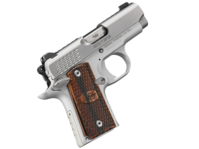 Micro 9 Stainless Raptor kimber 1911 pistols