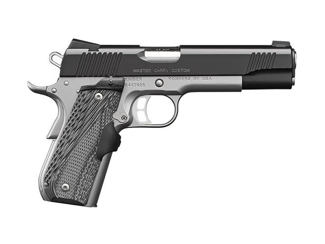 Master Carry Pro kimber 1911 pistols