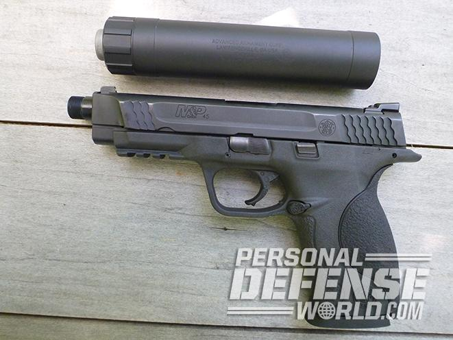 Smith & Wesson M&P45 Threaded Barrel Kit aac ti-rant