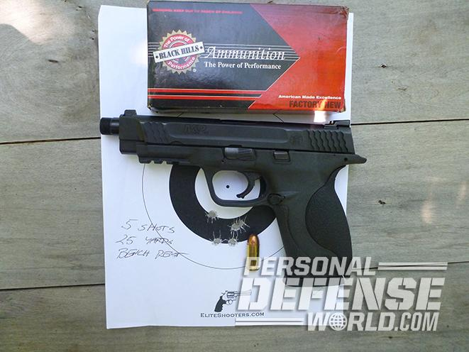 Smith & Wesson M&P45 Threaded Barrel Kit target