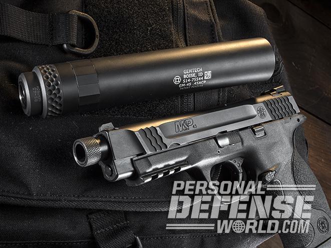 Smith & Wesson M&P45 Threaded Barrel Kit barrel