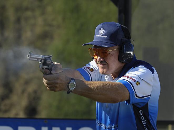 jerry miculek revolver practice