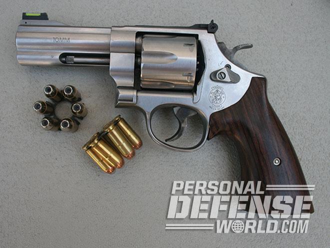 Moon Clips revolver left profile
