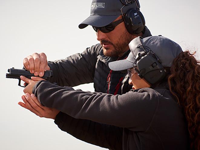 NRA Carry Guard Expo gun training