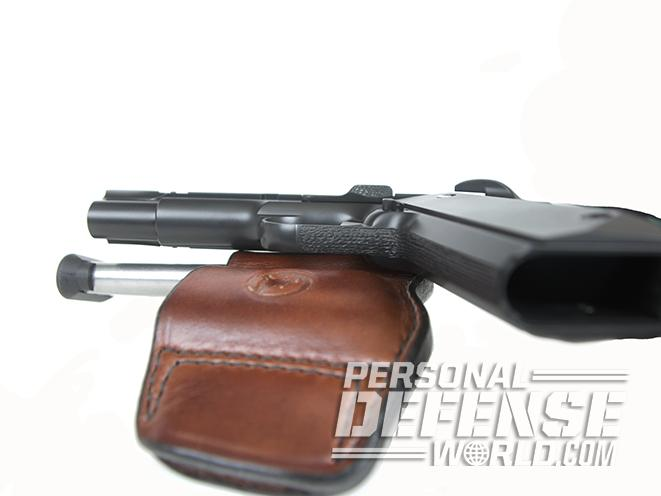 Nighthawk Tri Cut Carry brown holster