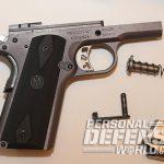 Ruger SR1911 Lightweight Commander 9mm pistol series 70 trigger
