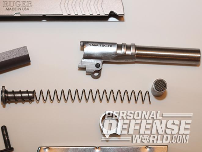 Ruger SR1911 Lightweight Commander 9mm pistol spring