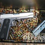 Ruger SR1911 Lightweight Commander 9mm pistol rounds