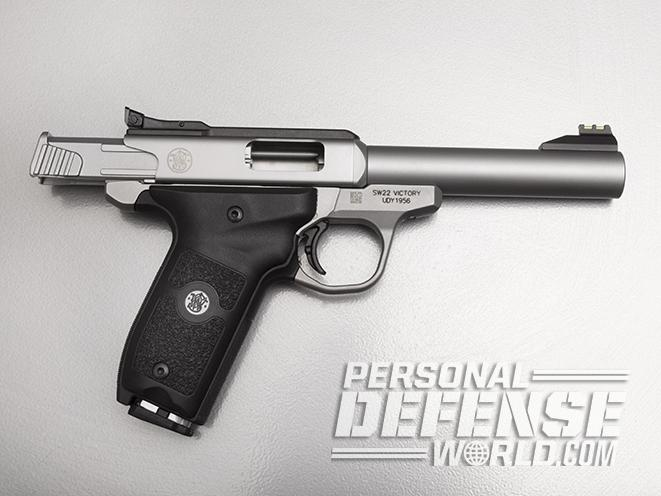 Smith & Wesson SW22 Victory pistol unloaded