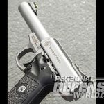 Smith & Wesson SW22 Victory pistol left angle