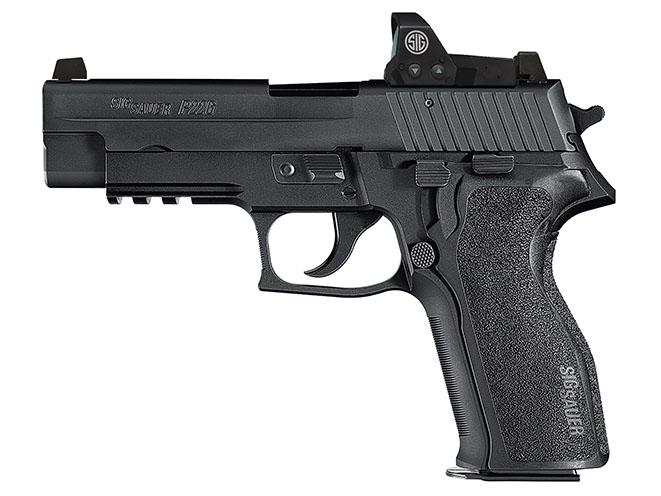 Sig Sauer P226 RX new pistols