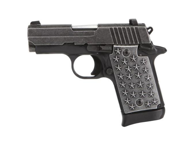 Sig Sauer P938 We The People pistol left profile