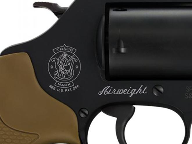 Smith & Wesson Model 360 357 Magnum revolver cylinder