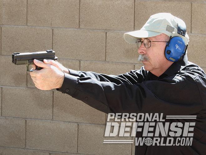 Springfield XD pistol torture test