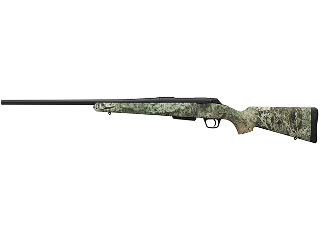 Winchester XPR Hunter Mountain Country Range rifle left profile