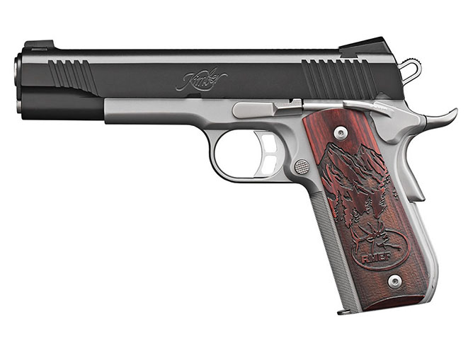 Kimber Camp Guard 10 pistol 10mm personal defense world lead