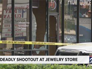 houston jewelry store gunfight