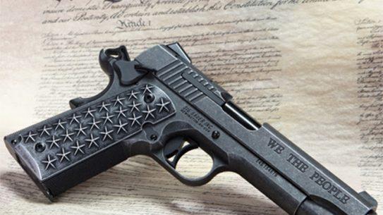 Sig Sauer 1911 We The People handgun