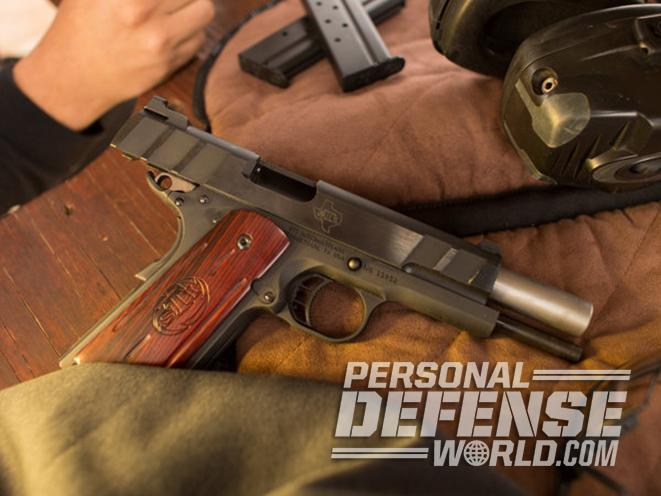 10mm pistol shots downrange