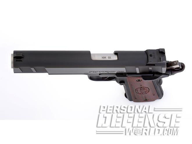 STI Nitro 10mm pistol slide