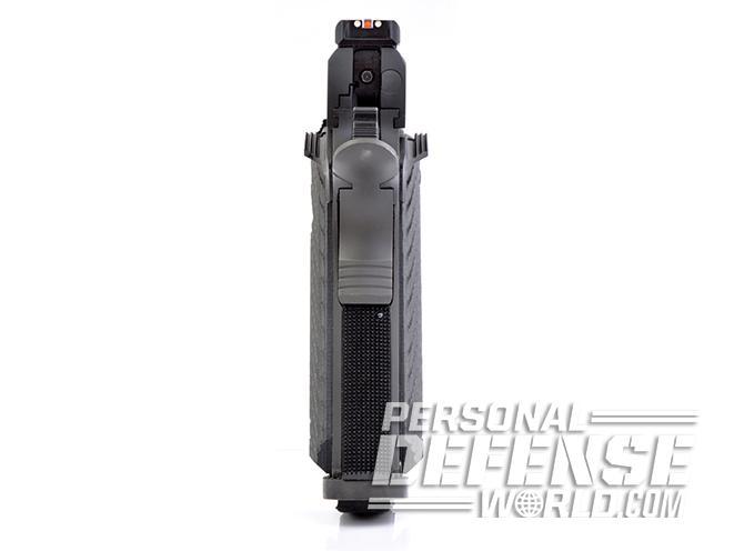 Rock Ultra FS 10mm pistol rear sight