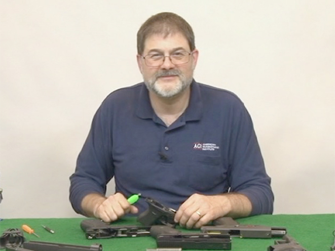 AGI glock pistols course instructor