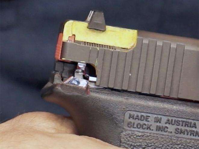 AGI glock pistols course rear