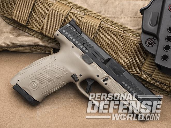 CZ P-10 C FDE 9mm pistol