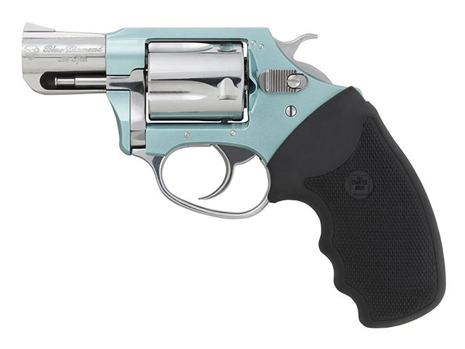 Charter Arms undercover lite blue diamond revolver left profile