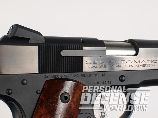 Cylinder & Slide colt model 1908 pocket model 2008 pistol serrations