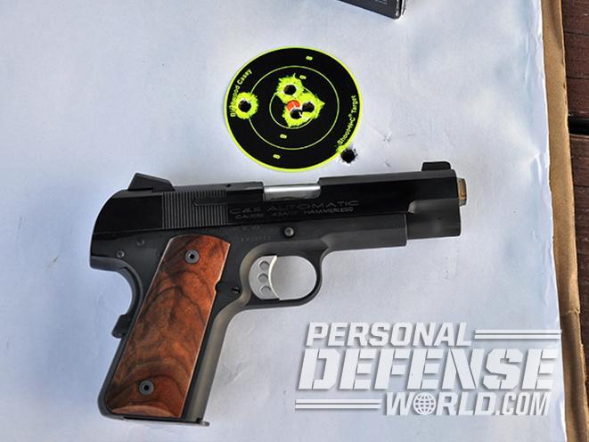 Cylinder & Slide colt model 1908 pocket model 2008 pistol target