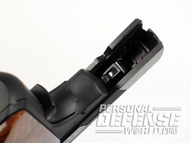 Cylinder & Slide colt model 1908 pocket model 2008 pistol open