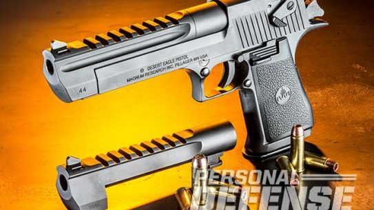 Magnum Research Desert Eagle Combo Caliber Pack left angle