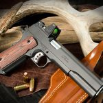 Ed Brown LS10 pistol right angle