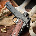 Ed Brown LS10 pistol left angle