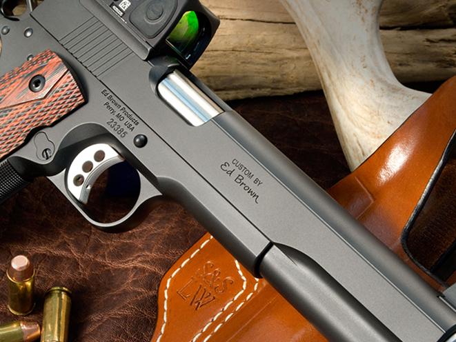Ed Brown LS10 pistol slide