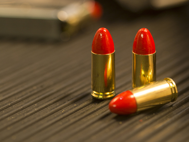federal syntech bullets on case