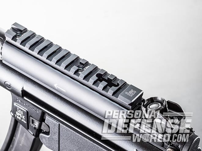 HK SP5K pistol rail