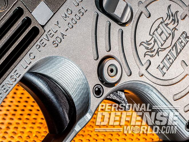 Heizer Defense PKO-45 pistol trigger