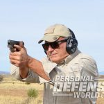 Heizer Defense PKO-45 pistol shooting