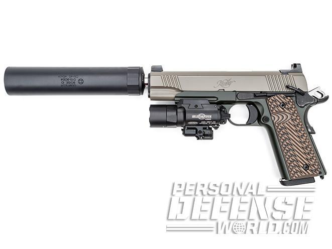 home defense gun left profile