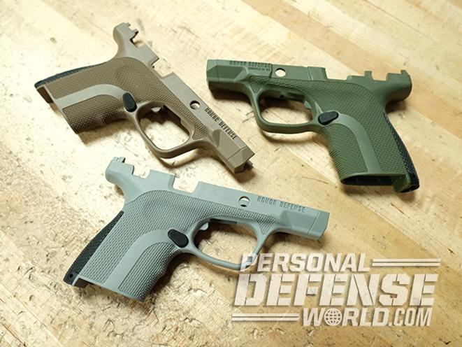 Honor Defense Honor Guard FIST pistol frame