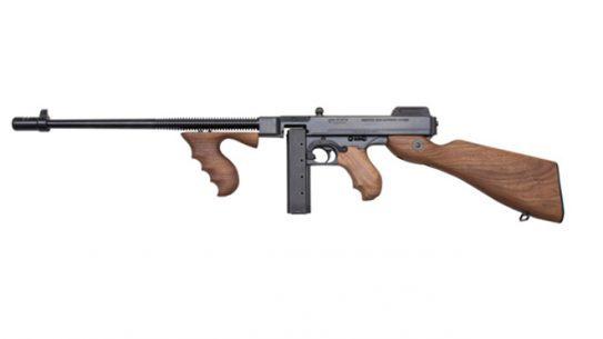 Thompson 9mm tommy gun left profile
