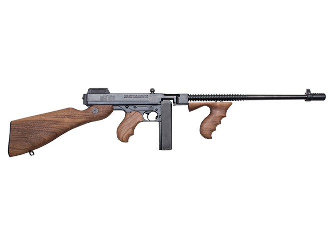 Thompson 9mm tommy gun right profile