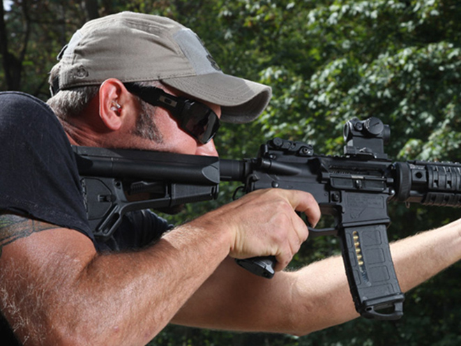ar rifle collapsible stock