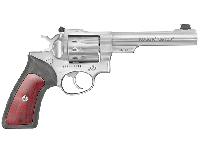 Ruger GP100 rimfire revolvers