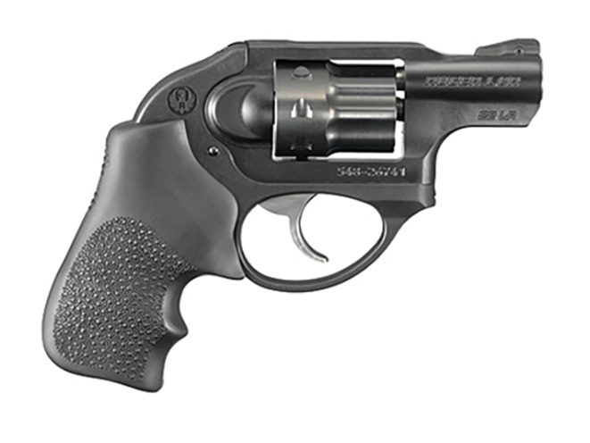 Ruger LCR rimfire revolvers