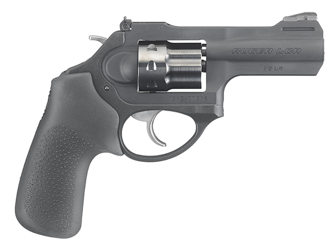 Ruger LCRx rimfire revolvers