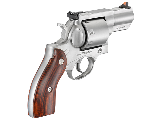 Ruger Redhawk revolver rear angle