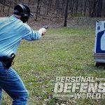 Ruger Redhawk revolver standing test